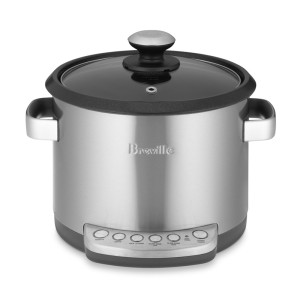 Breville ® The Risotto Plus Sauteing Slow Rice Cooker and Steamer