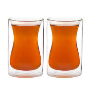 Eparé ® Double-Wall Insulated Turkish Style Tea Cups
