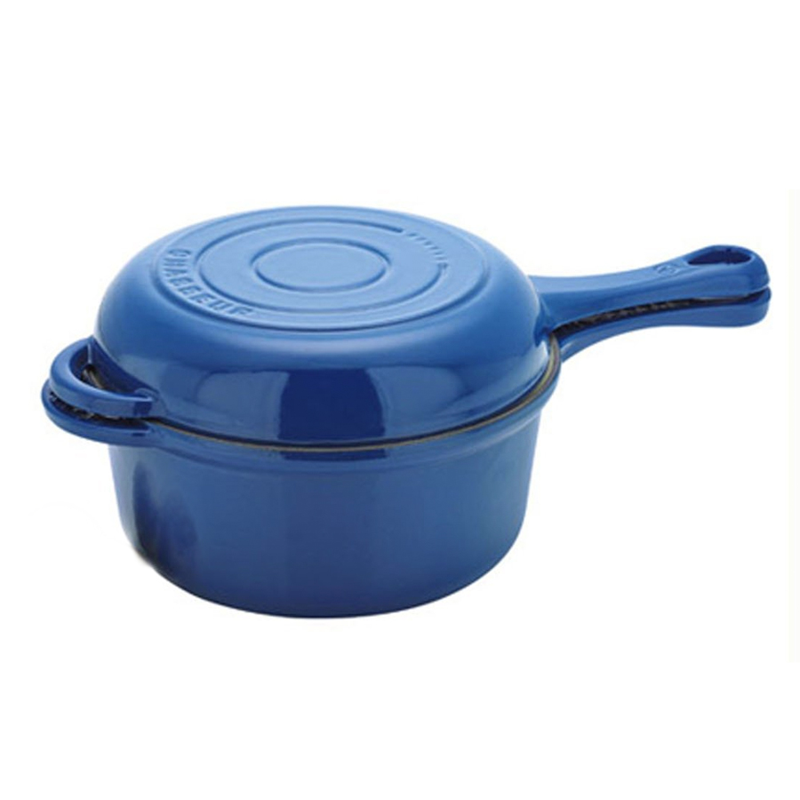 Chasseur Cast Iron ® French Combi Cook Sauce Pan